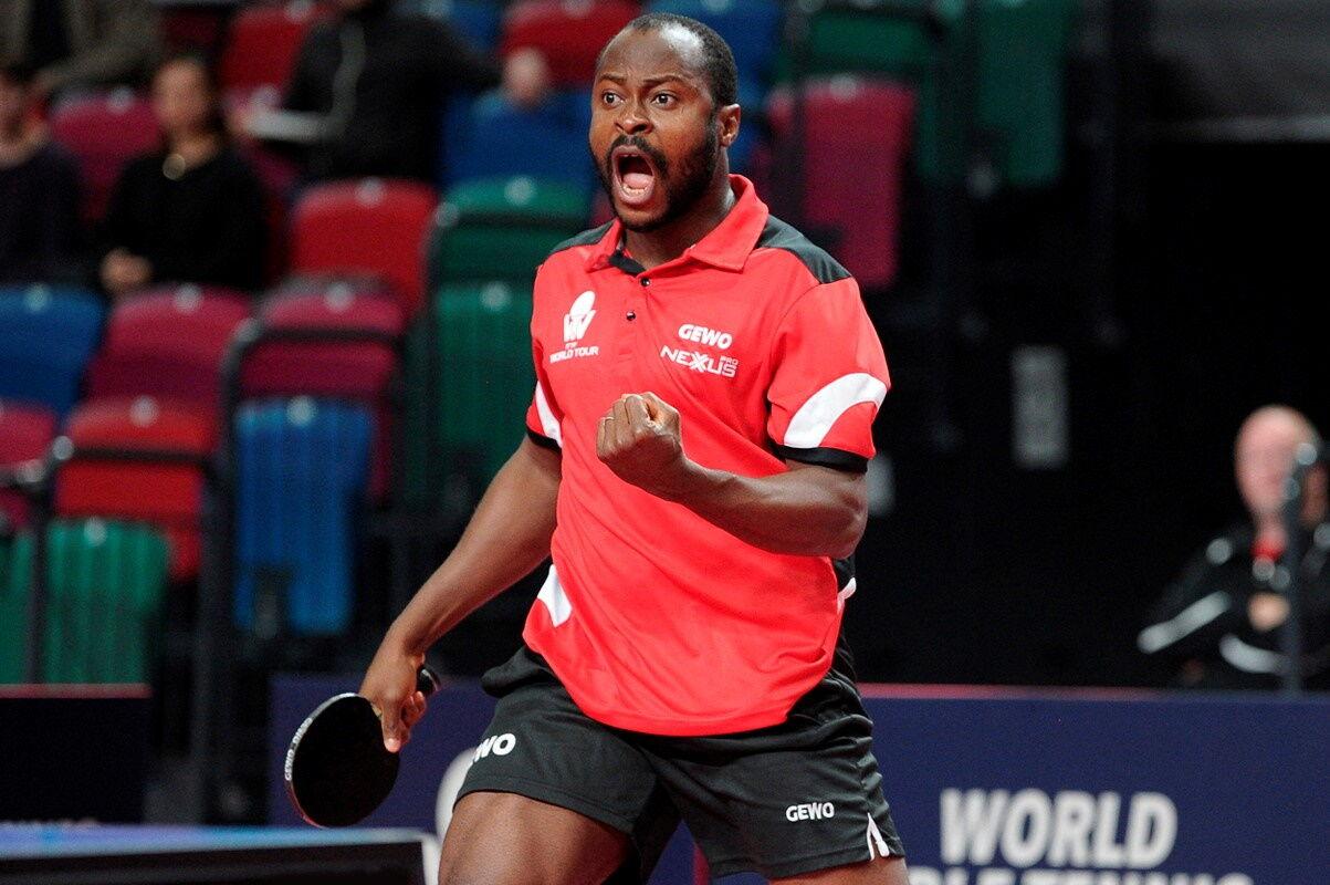 Az Afrika bajnok Quadri Aruna