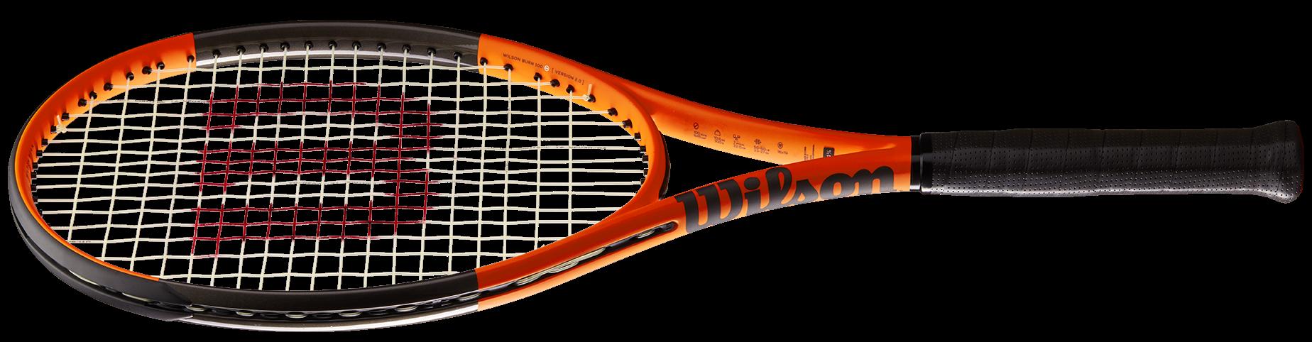 Willson Burn fordított színű teniszütő