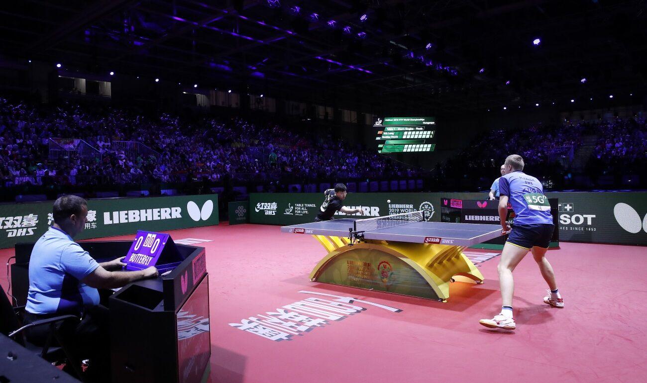 Ma Long és Mattias Falck játszik a budapesti asztalitenisz világbajnokság döntőjében.