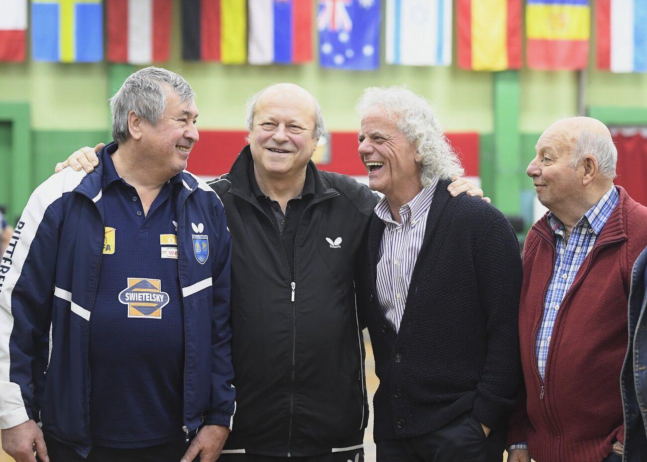 Klampár Tibor, Jónyer István, Gergely Gábor és Faházi János