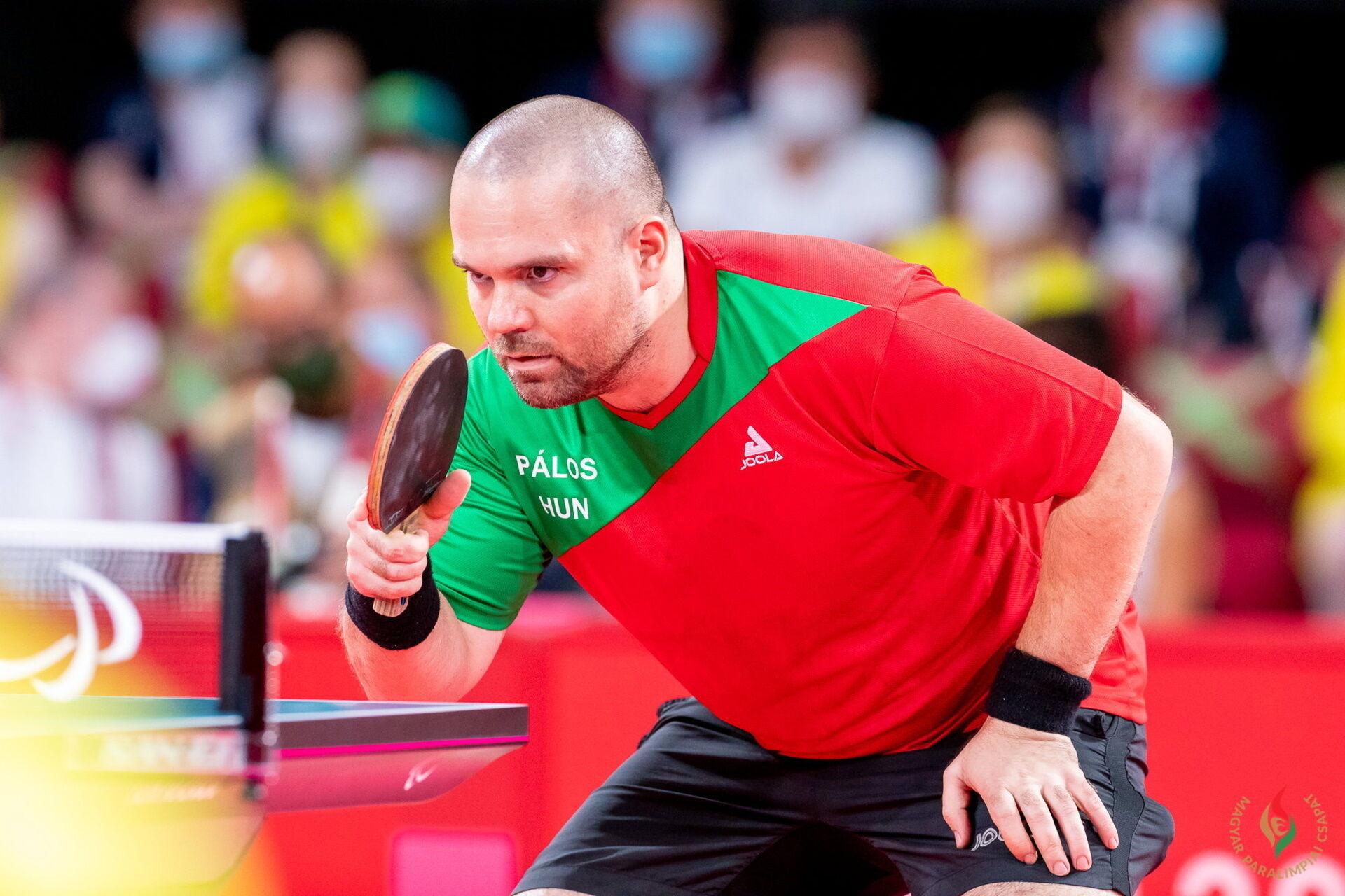 Paralimpiai 2020 - Pálos Péter asztaliteniszező olimpiai bajnok Tokióban