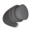 Kép 3/3 - Tecnifibre Razor Code teniszhúr keresztmetszeti képe