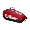 Kép 2/2 - Wilson Team 2 Comp 9PK piros-fekete ütőtáska