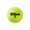 Kép 2/3 - Wilson Roland Garros Clay teniszlabda (1 db) egyik oldala