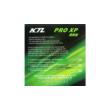 KTL Pro XP asztalitenisz borítás csomagolásának hátlapja