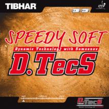 Tibhar Speedy Soft D.TecS asztalitenisz-borítás