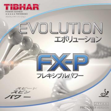 Tibhar Evolution FX-P asztalitenisz-borítás