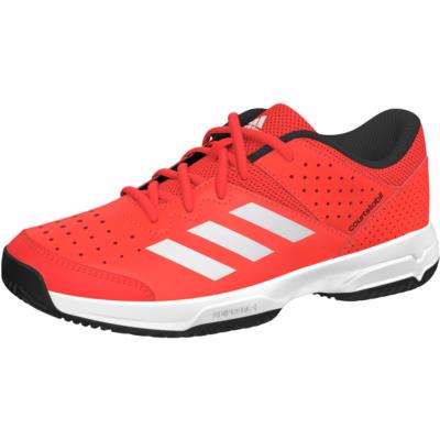 adidas Court Stabil junior teniszcipő (napvörös)