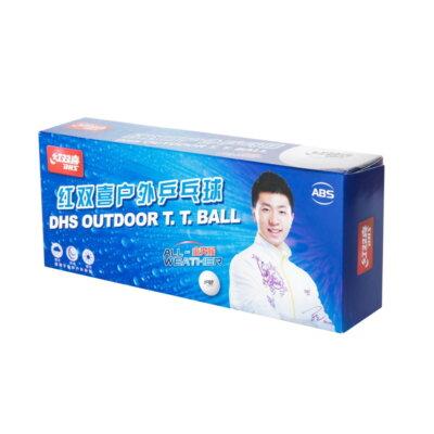 DHS OD40+ Outdoor pingponglabda kültéri használatra (10 db/doboz)