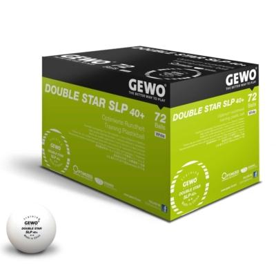Gewo Double Star SLP 40+ pingponglabda (72 db/doboz)