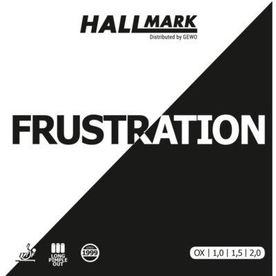 Hallmark Frustration asztalitenisz-borítás