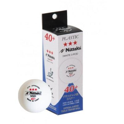 Nittaku NSD 3-Star 40+ pingponglabda (3 db/doboz)