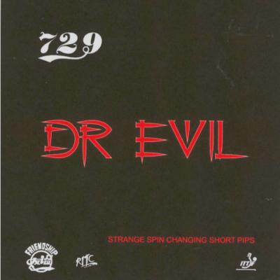 Ritc 729 Dr Evil asztalitenisz borítás