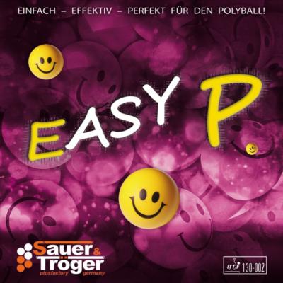 Sauer & Tröger Easy P hosszúszemcsés asztalitenisz-borítás borítója