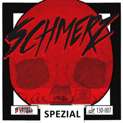 Sauer & Tröger Schmerz hosszúszemcsés asztalitenisz-borítás borítója
