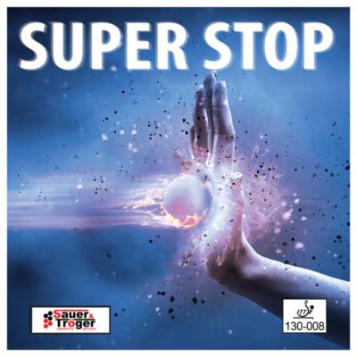 Sauer & Tröger Super Stop anti asztalitenisz-borítás borítója
