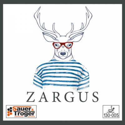 Sauer & Tröger Zargus rövidszemcsés asztalitenisz-borítás borítója
