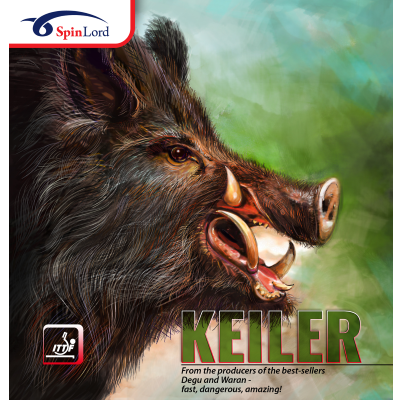 Spinlord Keiler asztalitenisz-borítás