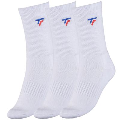 Tecnifibre Tour - 3 pár hosszú szárú fehér zokni