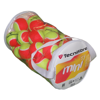 Tecnifibre Mini teniszlabda (40 db/zsák)