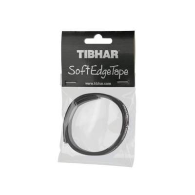Tibhar Soft Edge Tape fejvédőszalag fekete  (9 mm x 0,44 m)