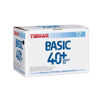 Tibhar Basic 40+ SYNTT NG pingponglabda (72 db/doboz)