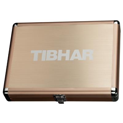 Tibhar Cube Exclusive négyzetes alu ütőtok - arany