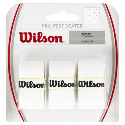 Wilson Pro Perforated fehér  fedőgrip (3 db)