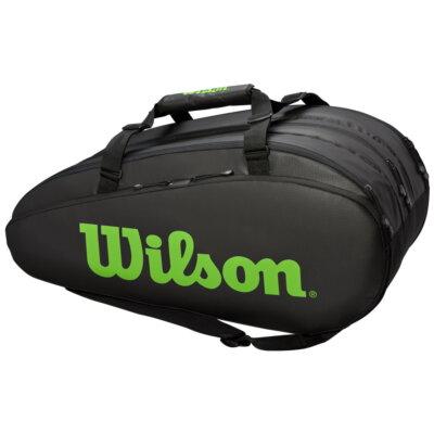 Wilson Tour 3 Comp fekete-zöld ütőtáska
