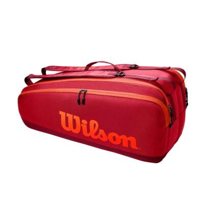 Wilson Tour 6PK vöröses ütőtáska