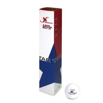 Xushaofa 3-Star 40+ pingponglabda (6 db/doboz)
