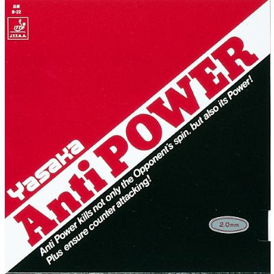 Yasaka Antipower asztalitenisz-borítás