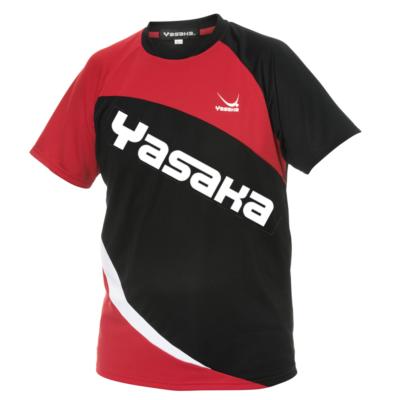 Yasaka Oblick Promotion piros-fekete pólóing