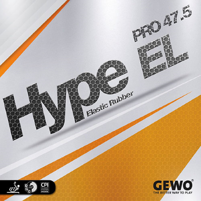 Gewo Hype EL Pro 47.5 asztalitenisz-borítás