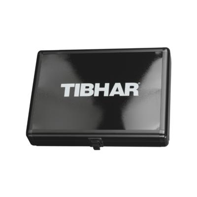 Tibhar Alum Cube Premium négyzetes alu ütőtok - fekete