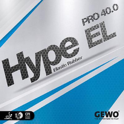 Gewo Hype EL Pro 40.0 asztalitenisz-borítás
