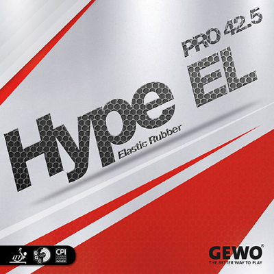 Gewo Hype EL Pro 42.5 asztalitenisz-borítás