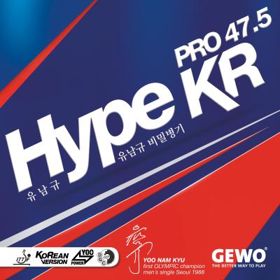 Gewo Hype KR Pro 47.5 asztalitenisz-borítás