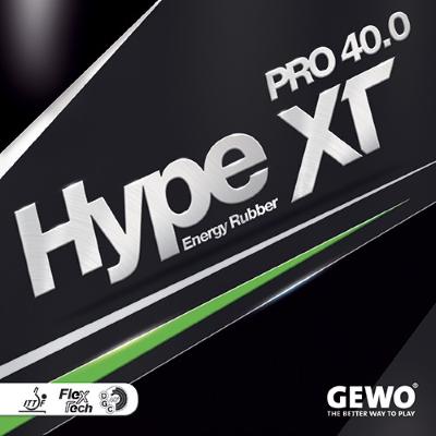 Gewo Hype XT Pro 40.0 asztalitenisz-borítás