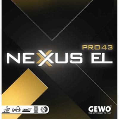 Gewo Nexxus EL Pro 43 asztalitenisz-borítás