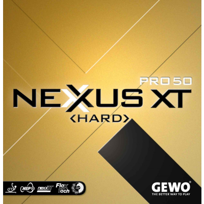 Gewo Nexxus XT Pro 50 Hard asztalitenisz-borítás