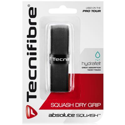 Tecnifibre Squash Dry fekete alapgrip