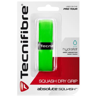 Tecnifibre Squash Dry zöld alapgrip