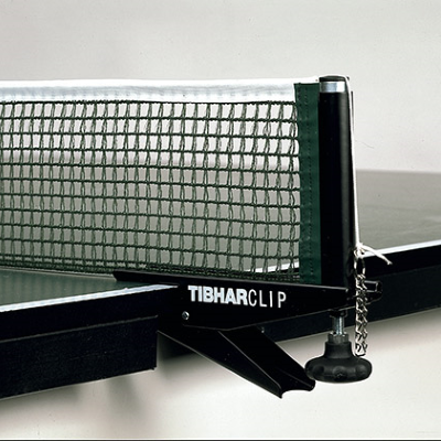 Tibhar Clip asztalitenisz-háló és tartó (zöld)