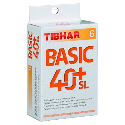 Tibhar Basic 40+ SL pingponglabda (6 db/doboz)