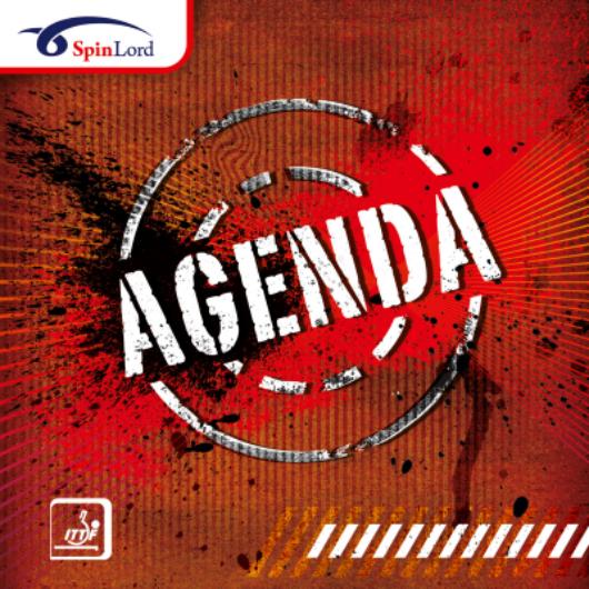 Spinlord Agenda asztalitenisz borítás