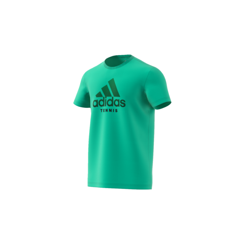 Az adidas Category Tee M kiváló minőségű, kényelmes viseletet biztosító T-Shirt edzésekhez, a mindennapi teniszezéshez.