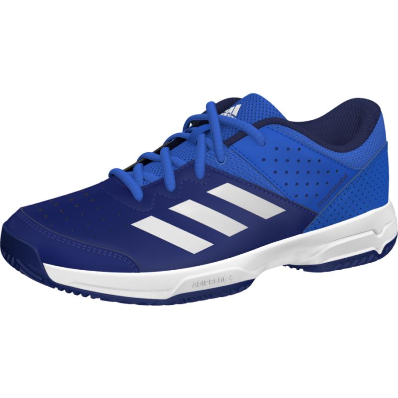 adidas Court Stabil junior teniszcipő (kék)