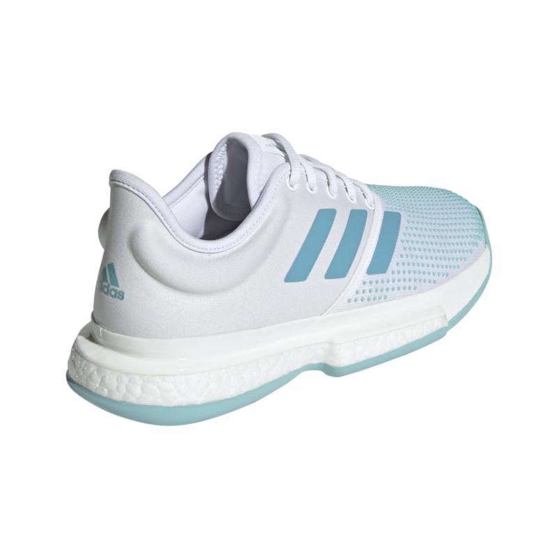 adidas SoleCourt Boost női teniszcipő hátoldali nézete