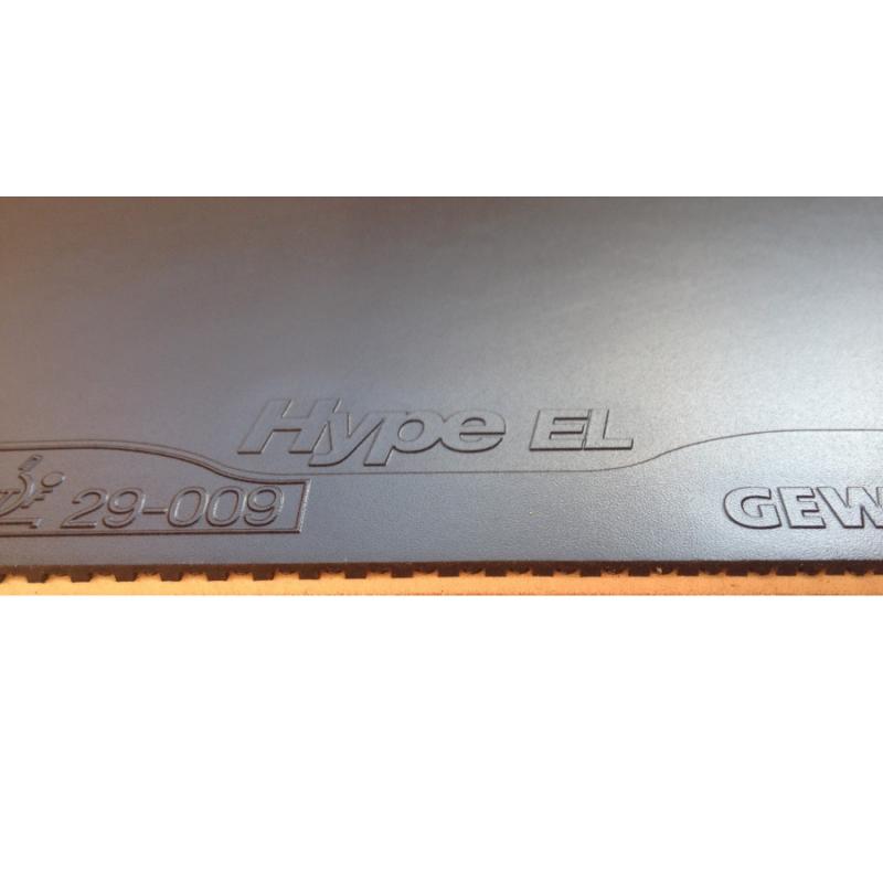 Gewo Hype EL Pro 42.5 asztalitenisz-borítás fekete
